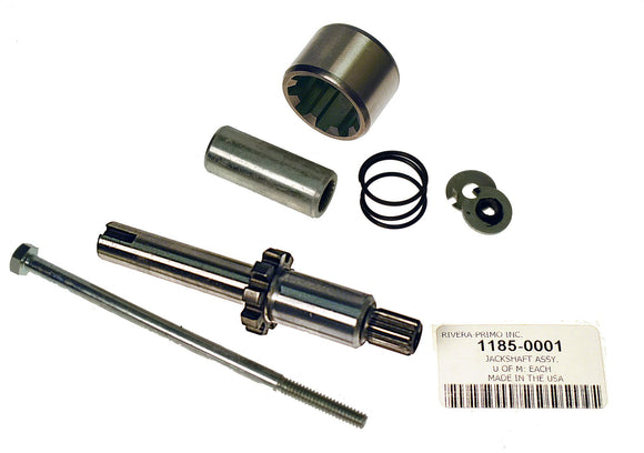 CHAINDRIVE JACKSHAFT ASSEMBLY WITHOUT PINION GEAR. - Rivera Primo
