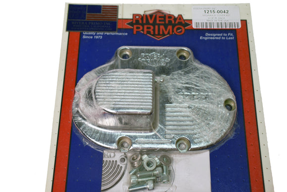 CHROME HYDRAULIC END COVER KIT. - Rivera Primo