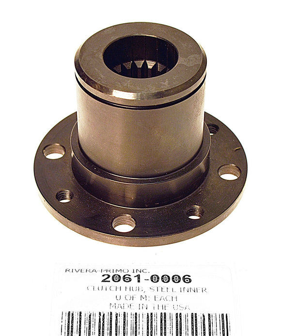 CLUTCH HUB. FOR EVO SPLINED SHAFT. FOR BRUTE V BELT DRIVES. - Rivera Primo