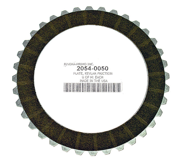 Clutch, Kevlar Friction Disk with Aluminum Core - Rivera Primo