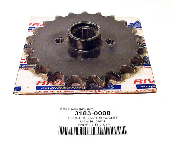 Countershaft Sprockets XL 1979-Early 1985 - Rivera Primo