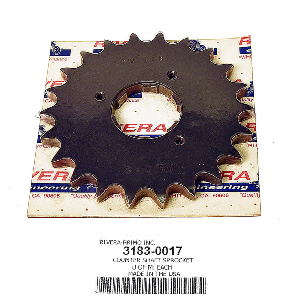 Countershaft Sprockets Big Twin 4 Speed - Rivera Primo