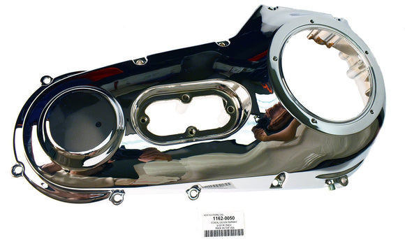 COVER, OUTER PRIMARY CHROME - 1999-2006 SOFTAIL/*DYNA - Rivera Primo