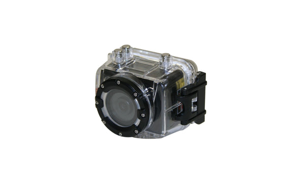 CRYSTAL CLEAR EXTENDED BACK WATERPROOF HOUSING (300 FT. DEPTH). USE WITH 1242-0001/2 CAMERA KIT. - Rivera Primo