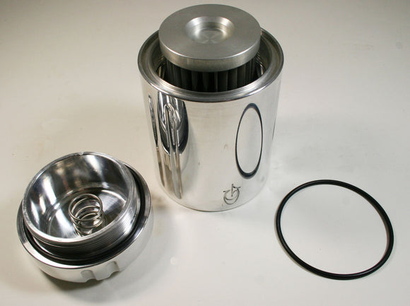 CYCLE SPIN-ON BILLET OIL FILTER WITH HIGH FLOW - Rivera Primo