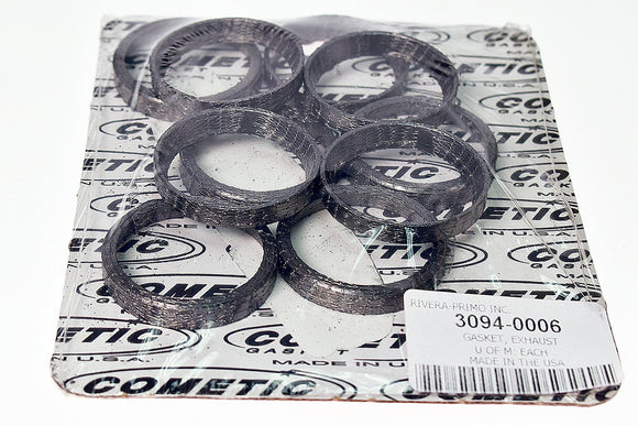 EXHAUST GASKET. FITS 1986-1992 EVO XL and FITS TWIN CAMS. - Rivera Primo