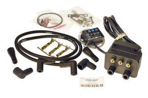 FIREBALL SINGLE FIRE IGNITION COIL & PLUG WIRE KIT - Rivera Primo