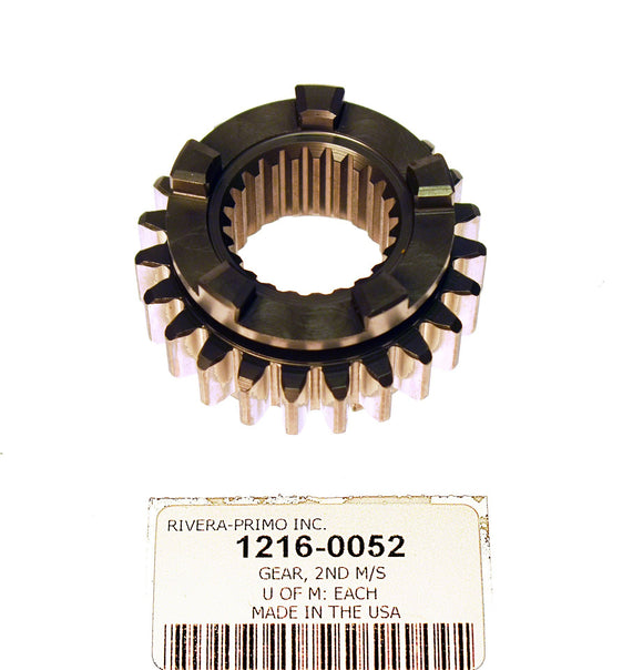 GEAR, 2nd MAINSHAFT - 23T SECOND GEAR - Rivera Primo