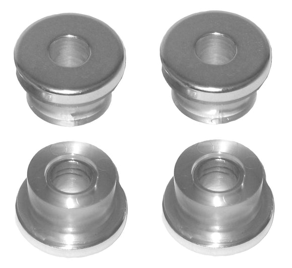 GOODEN-TITE HANDLEBAR BUSHINGS ARE ALUMINUM ENCAPSULATED IN POLY-URETHANE FOR VIBRATION FREE HANDLEBARS. - Rivera Primo