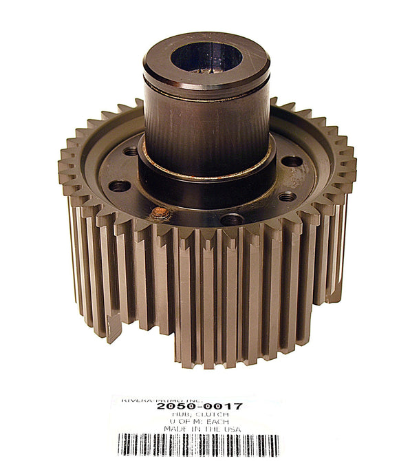 Hub Assembly, Clutch (New Style) Splined Shaft - Rivera Primo