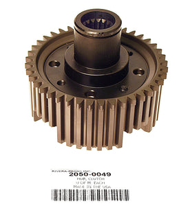 Hub Assembly, Clutch w/Steel Inner & Alum Outer - Rivera Primo