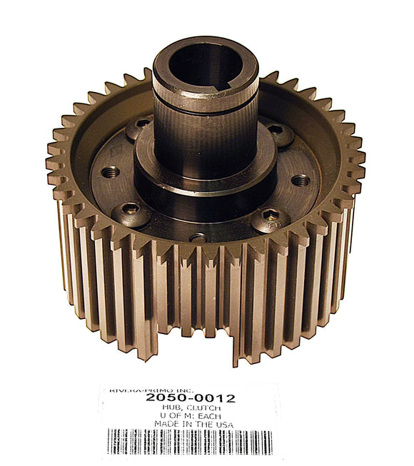 Hub Assembly, Clutch with Tapered Shaft and Classic Belt Drive - Rivera Primo