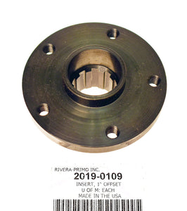 "INSERT, 1.0"" OFFSET(1.00"") FOR 3"" PULLEY. - Rivera Primo"