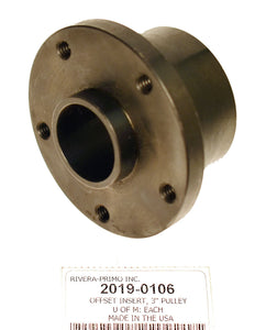 "INSERT, FRONT PULLEY 1-3/8"" OFFSET(1.375"") SPLINED - Rivera Primo"