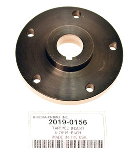 "INSERT, STD. - TAPERED INSERT (STD). FOR 3"" PULLEYS - Rivera Primo"