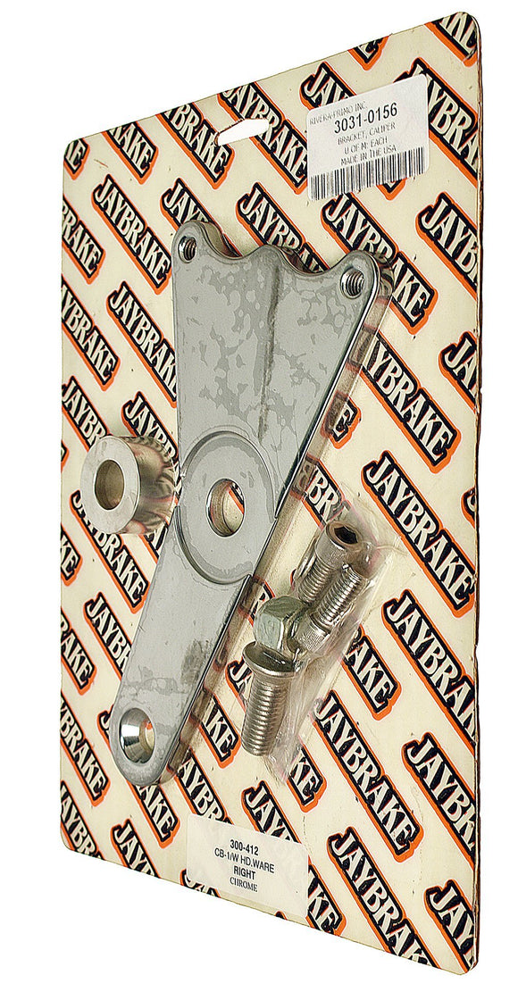 Jay Brake, Caliper Bracket Chrome 73-83 10