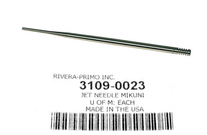 Jet Needle for Mikuni, size 97, for HSR 45, HSR48 - Rivera Primo