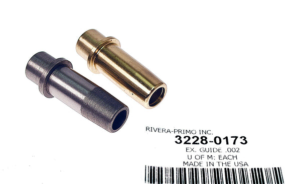 Kibblewhite Valve Guide Exhaust .002 - Rivera Primo