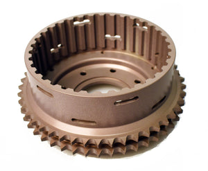 MACHINED, ANODIZED ONE PIECE CHAIN DRIVE Clutch BASKET - Rivera Primo