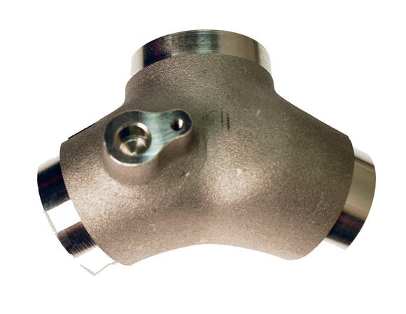 MANIFOLD, SINGLE SHORT CAST FINISH MACHINED - 48MM MIKUINI. - Rivera Primo
