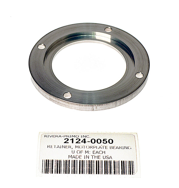 MOTORPLATE ALUMINUM MAINSHAFT BEARING RETAINER - Rivera Primo
