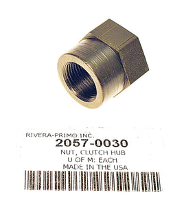 NUT, Clutch Hub w/Seal - TAPERED SHAFT EVO - Rivera Primo