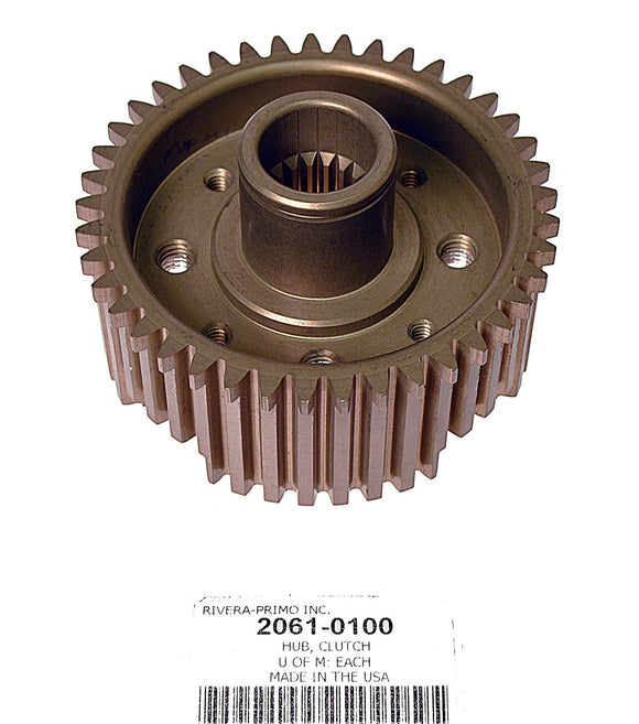 ONE PIECE 7075 ALUMINUM Clutch HUB WITH SPLINE - Rivera Primo