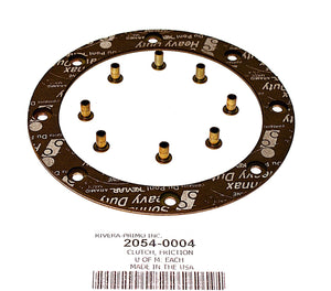 ORGANIC (CORK) FRICTION DISC WITH RIVETS - Rivera Primo