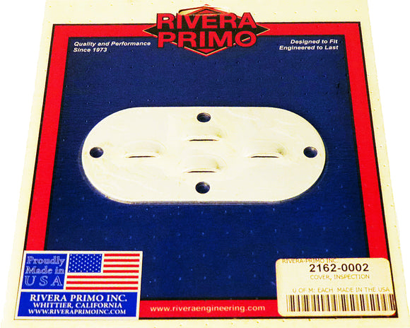 Polished Aluminum Louvered Inspection Cover - Rivera Primo