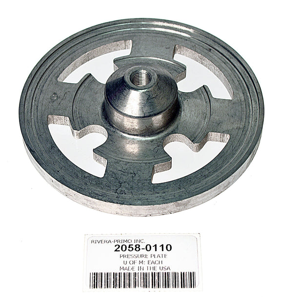 PRESSURE PLATE. FITS 11mm NARROW OPEN BELT DRIVE. - Rivera Primo