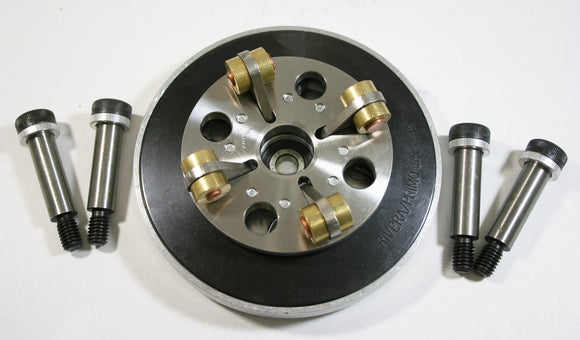 PRESSURE PLATE KIT, TPP VARIABLE Clutch APPLIES UP TO 60% MORE PRESSURE AGAINST Clutch PACK. - Rivera Primo