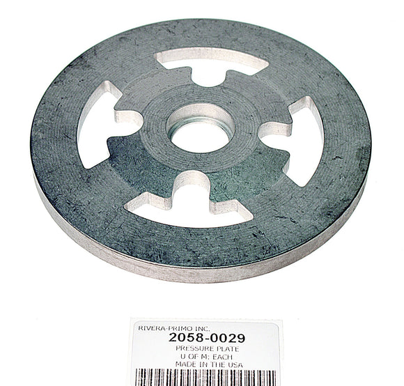 PRESSURE PLATE WITH BEARING HOLE BORED (6