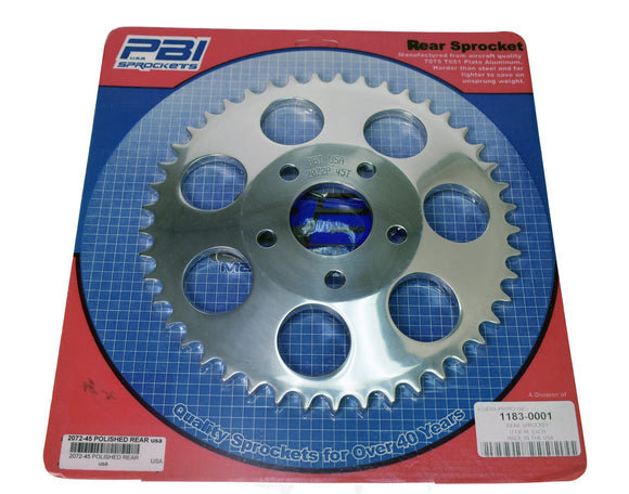 Rear Sprocket 45 Tooth - Rivera Primo