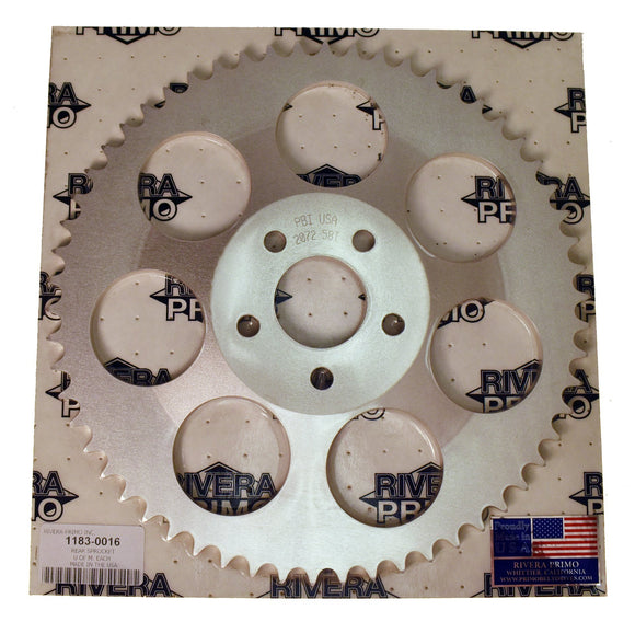 Rear Sprocket 58 Tooth - Rivera Primo