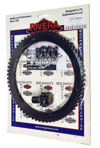 RING GEAR KIT - (66T & 9T Pinion) with Screws - Rivera Primo