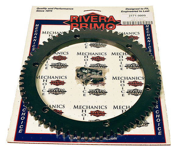 RING GEAR KIT - (66T) with Screws - Brute IV BELT DRIVES - Rivera Primo