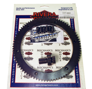 Ring Gear Kit, Conversion - 84T & 10T Pinion w/Screws - Rivera Primo