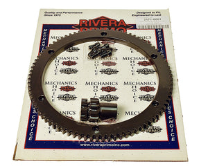 RING & PINION KIT - (84T and 10T Pinion)with Screws - Brute III - Rivera Primo