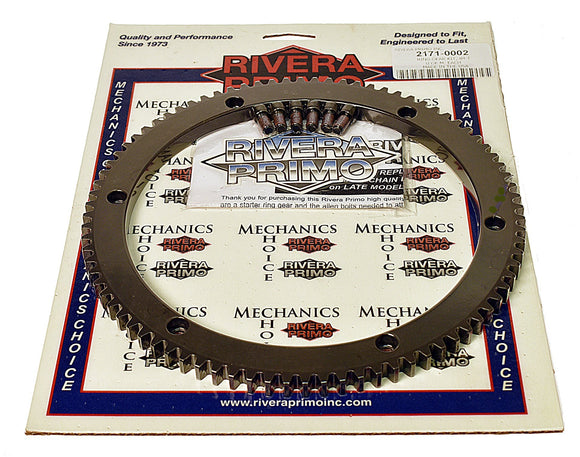 RING & PINION KIT - (84T) with screws - PRIMO ENCLOSED BELT DRIVES - Rivera Primo