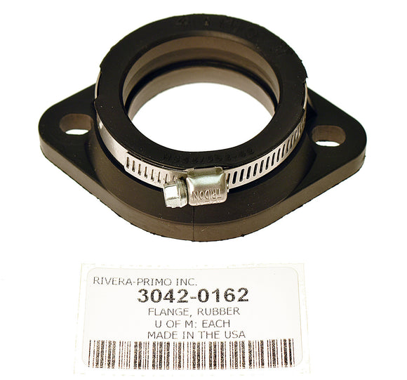 RUBBER FLANGE, 42MM W/CLAMP - Rivera Primo