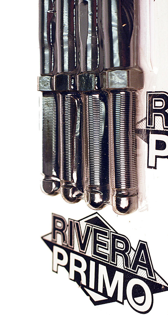 SET OF 4 CHROMEMOLY TAPER-LITE PUSH RODS. - Rivera Primo