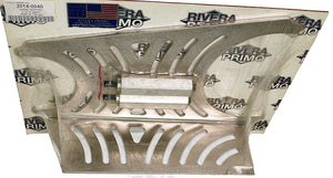 SLOTTED ALUMINUM SAFETY GUARD - Rivera Primo
