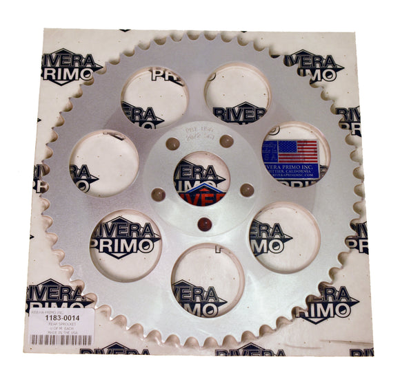 SPROCKET, REAR 56 Tooth - Rivera Primo