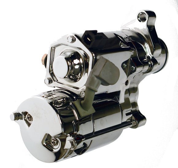 STARTER, 1.4 KW MONSTER TORQUE - CHROMED & POLISHED - Rivera Primo