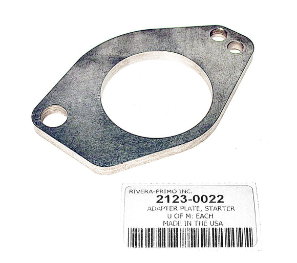 STARTER EXTENSION ADAPTER PLATE.1986-1988 BIG TWIN MODELS. - Rivera Primo