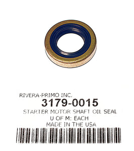 STARTER MOTOR SHAFT OIL SEAL. FITS 1994-05 BIG TWIN.  - Rivera Primo
