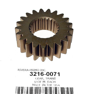 STOCK 21T 4TH GEAR COUNTERSHAFT. FITS SPORTSTER 5 SPEED TRANSMISSIONS. - Rivera Primo