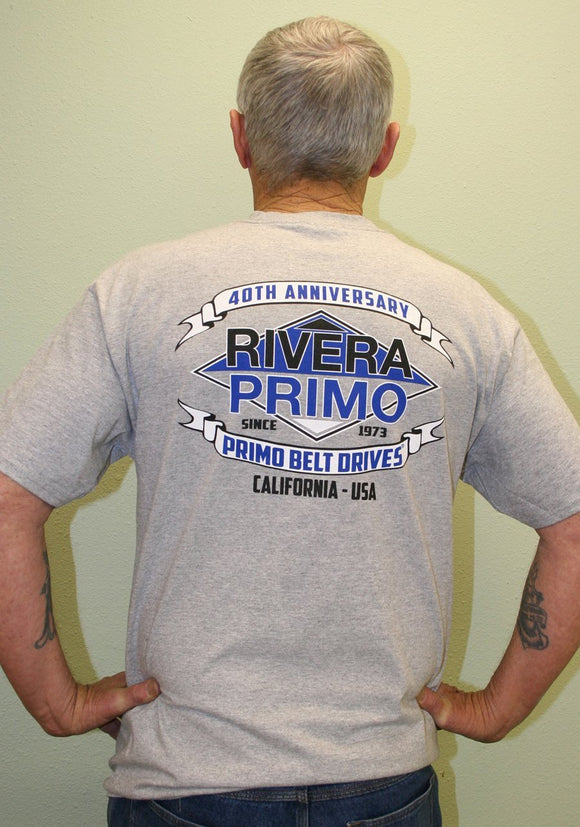 Tee, Cotton 2XL without Pocket - Rivera Primo