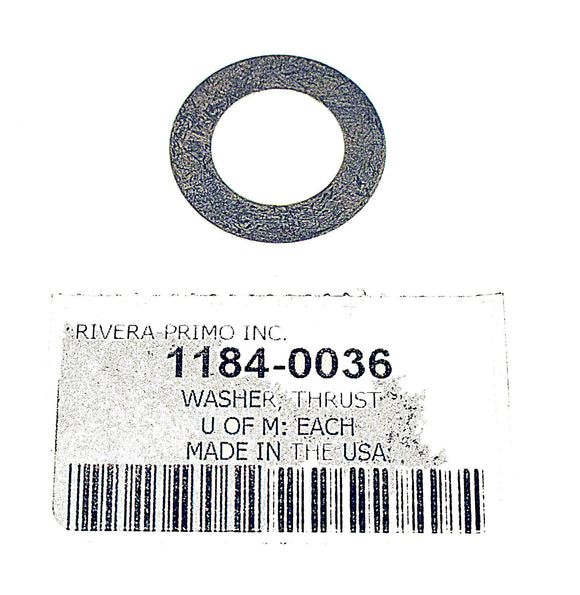 THRUST WASHER FOR SHAFT ASSY. (.05). - Rivera Primo