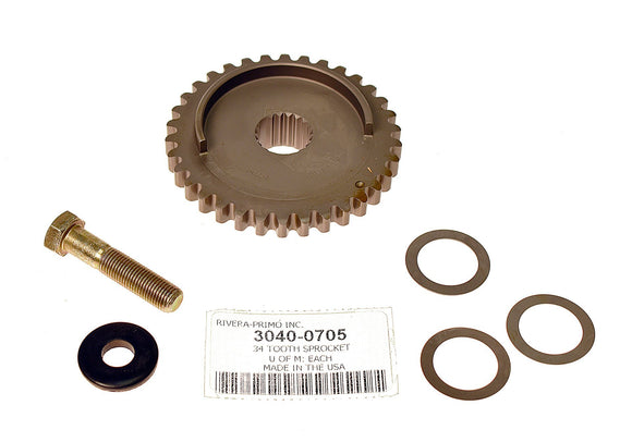 Twin Cam 34 Tooth Sprocket(SPLINED 2000-2006) - Rivera Primo
